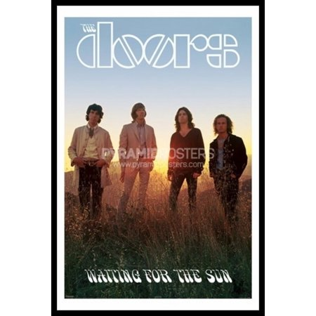 The Doors - Waiting For The Sun Laminated & Framed Poster (24 X