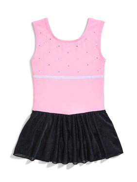Jacques Moret Colorblock Tank Dance Skirted Leotard (Little Girls & Big Girls)