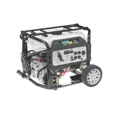 - Quipall 5250DF Dual Fuel Gas Portable Generator with Electric Start