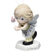 Precious Moments I'm A Bee-liever - Girl Dressed as Bee in Tulle Skirt Figurine #153017