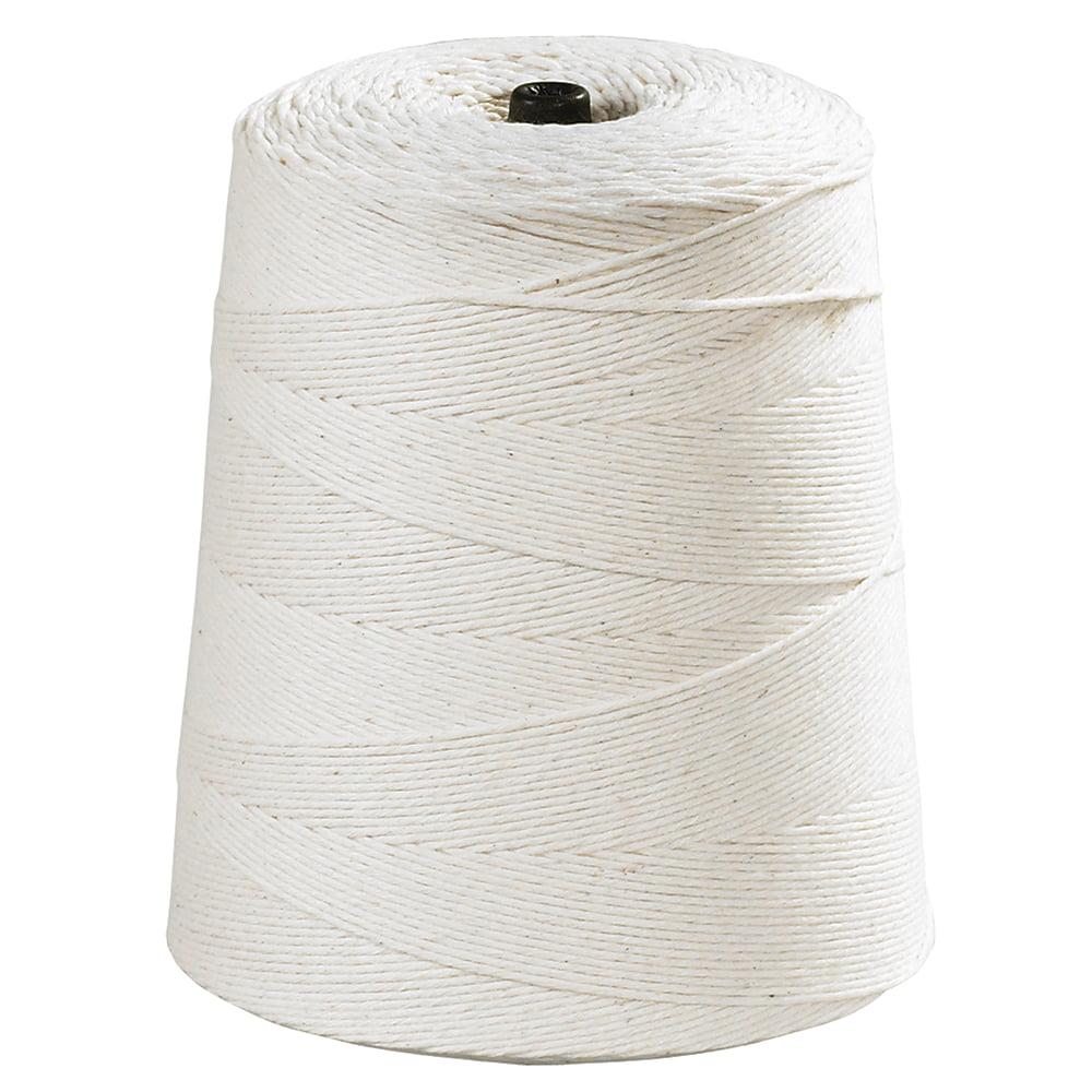 Box Partners Cotton Twine,16-Ply,40 lb,White,3100'/CS - BXP TWC310