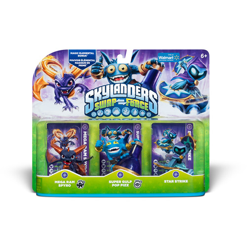 Skylanders Swap Force Magic Triple Pack - Walmart Exclusive (Universal)