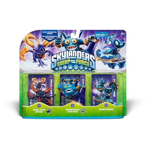 Skylanders Swap Force Magic Triple Pack - Walmart Exclusive (Universal)