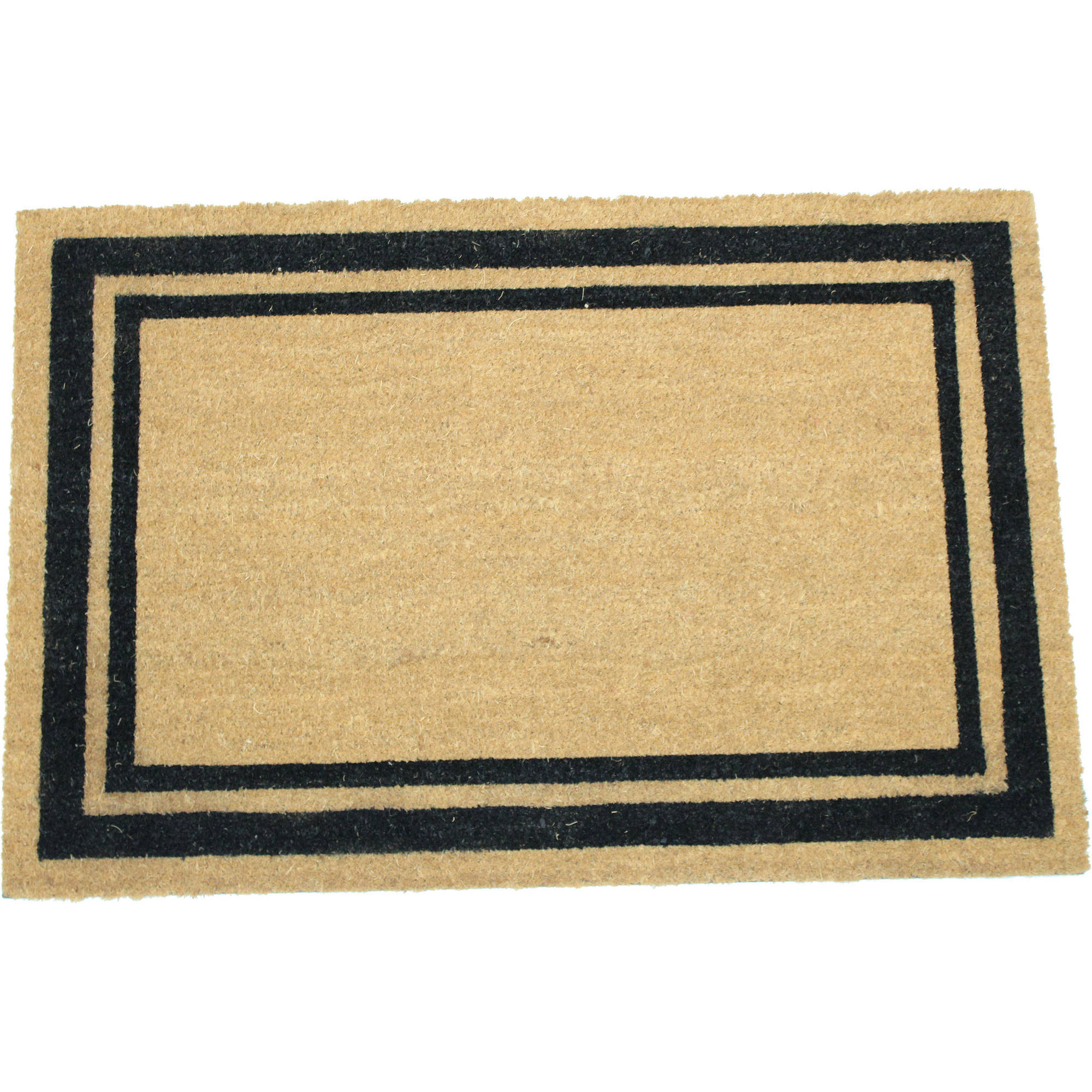 Border Frame 24x36 Inch Printed Coir Doormat by Home Garden Hardware