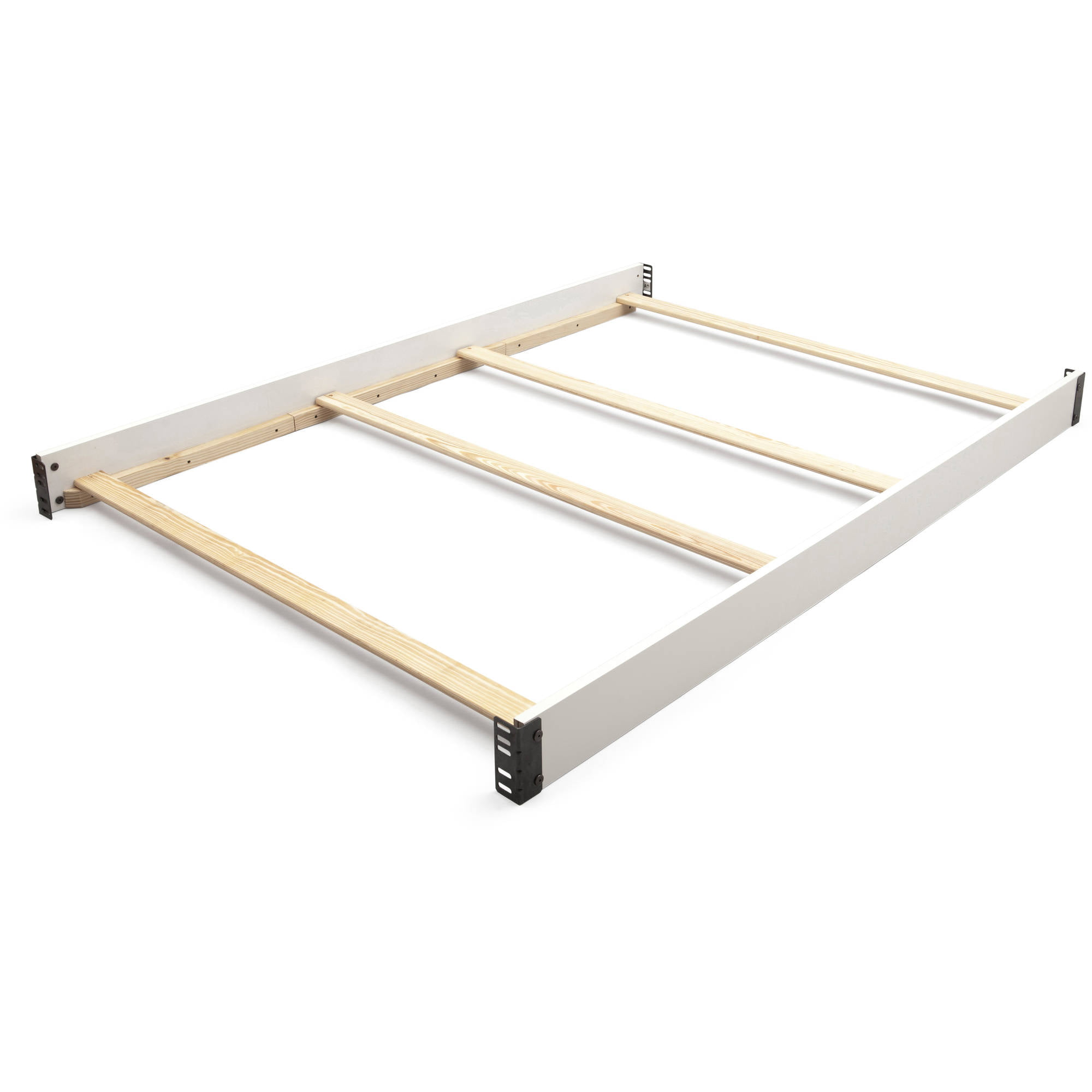 Delta Children Wooden Full Size Bed Rails 0050, White   Walmart.com