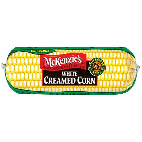 McKenzie's White Creamed Corn, 20 oz
