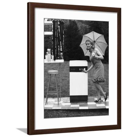 Vulcan Boiler Advertisment Shot, 1965 Framed Print Wall Art By Michael Walters