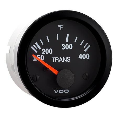 VDO VISION BLACK 400F  TRANSMISSION TEMPERATURE GAUGE
