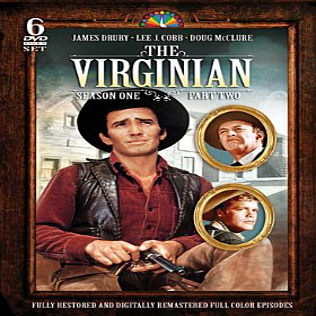 The Virginian: Season 1, Part 2 (DVD) (Virginian Season 2)