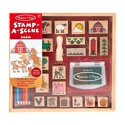 Melissa & Doug Stamp-a-Scene Wooden Stamp Set