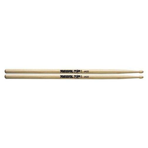 Regal Tip Jazz American Hickory Wood Tip Drumsticks by Regal Tip