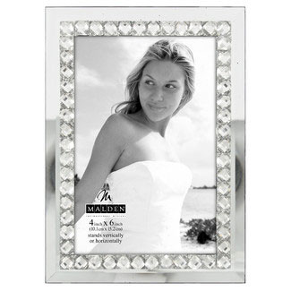 Malden Jeweled Mirror Picture Frame