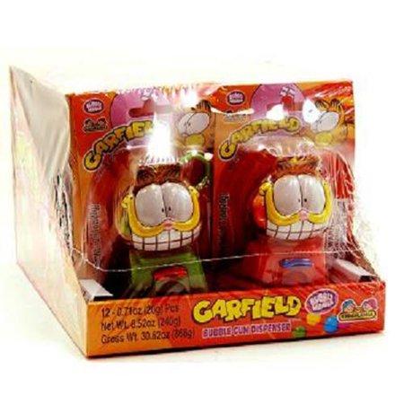 - Product Of Kidsmania, Garfield Bubble Gum Dispenser, Count 12 - Gum / Grab Varieties & Flavors