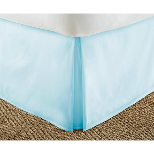Merit Linens Premium 14-inch Drop Pleated Bed Skirt King- Sage