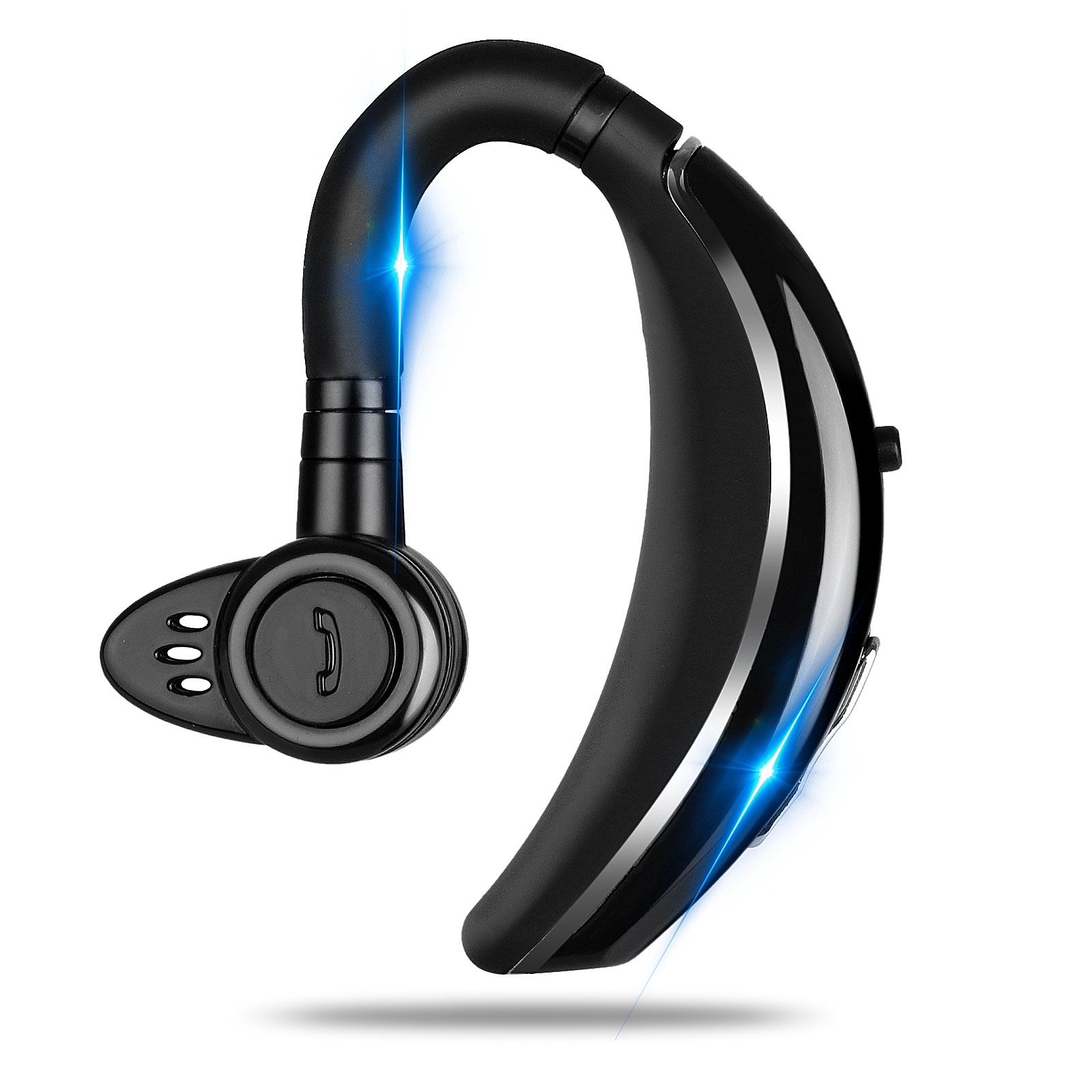 Bluetooth Headset Tsv Wireless Earpiece Bluetooth 4 1 For Cell Phones In Ear Piece Hands Free Earbud Headphone W Mic Noise Cancelling For Driving Compatible W Iphone 11 11 Pro Samsung Cellphone Walmart Com