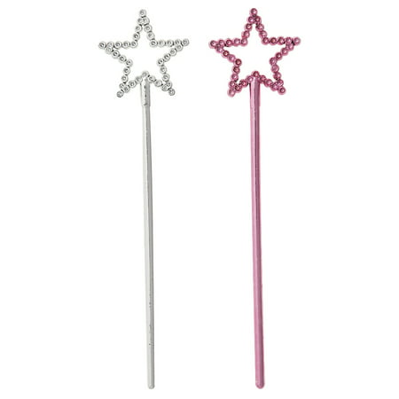 Princess Wands Wholesale (Mini Plastic Star Princess Fairy Wands,)