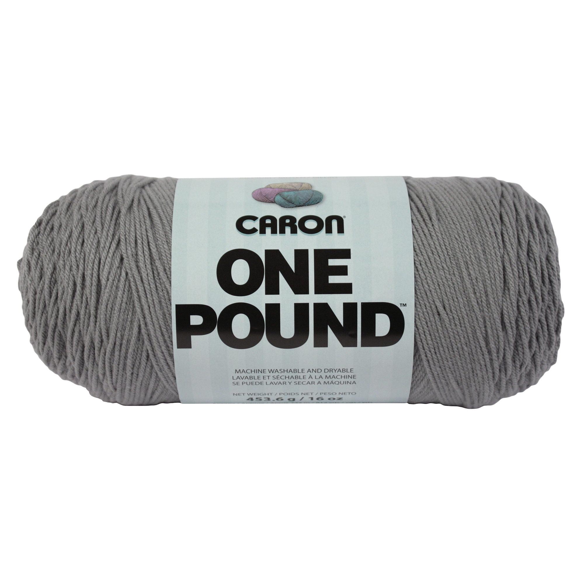 Caron One Pound Yarn, White