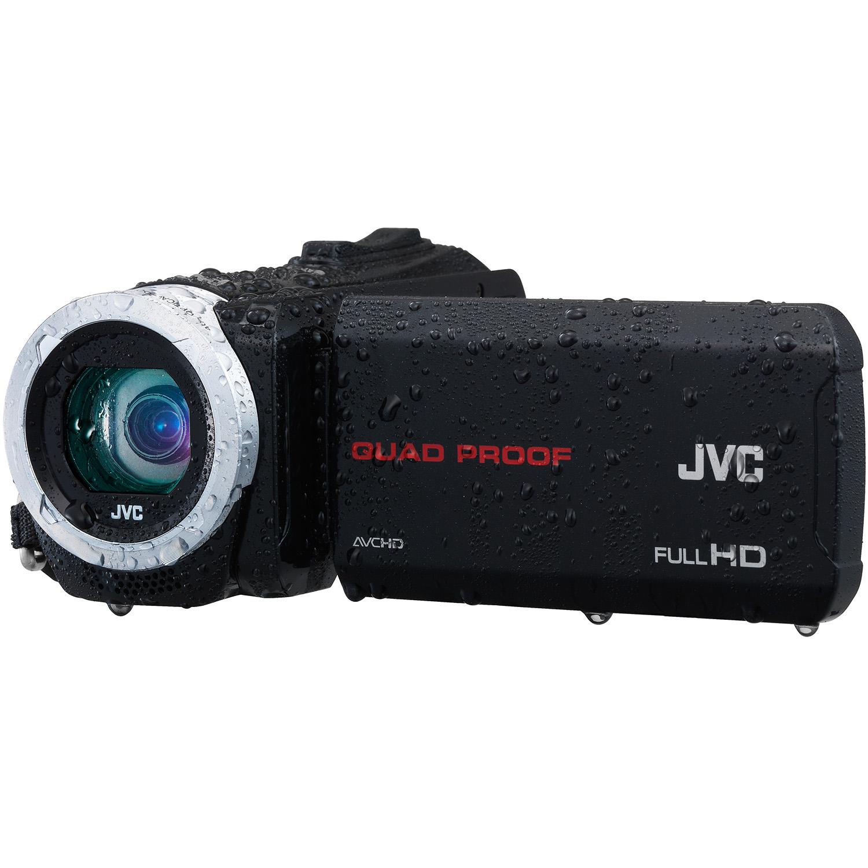 JVC Everio GZ-R10BU Quad Proof 48x Optical/60x Dynamic Zo...