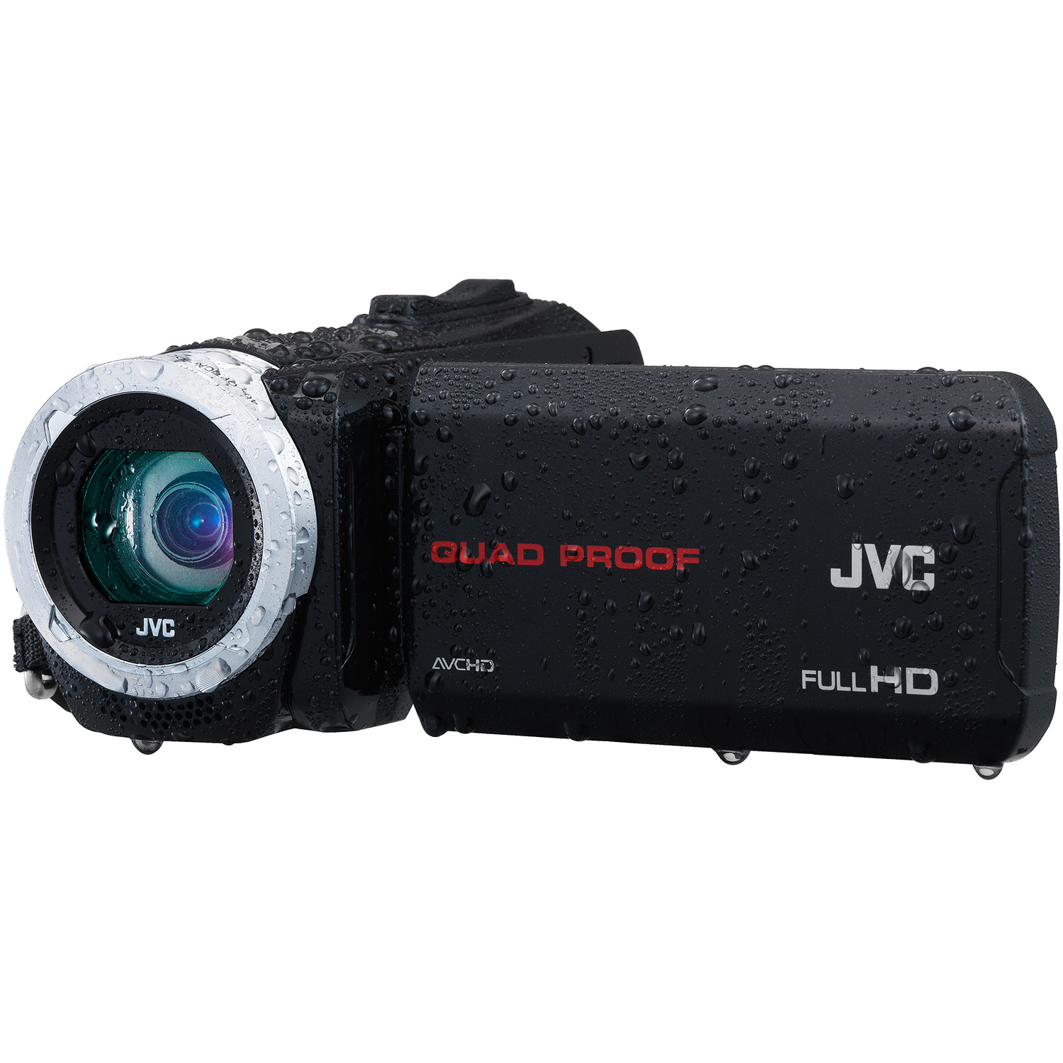 Refurbished JVC Everio GZ-R10BU Quad Proof Dynamic Zoom Full HD 1080p Video Camcorder