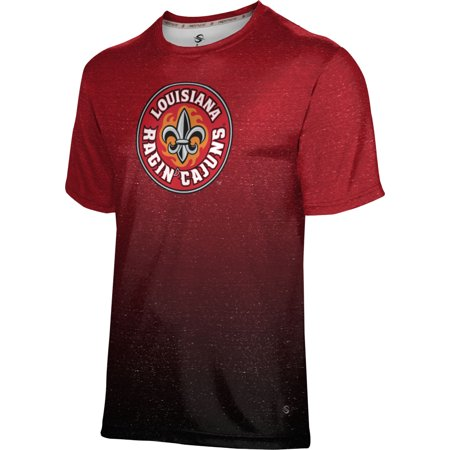 ProSphere Men's University of Louisiana at Lafayette Ombre Tech Tee (Party City Lafayette Louisiana)