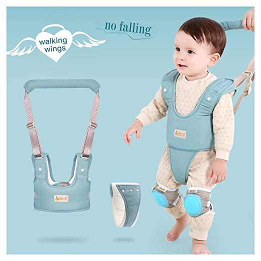 Baby Walker Safety Harness,Kids Handheld Adjustable Walk Learning Belt,Toddler Safety Garness Help Baby Learn to Walk