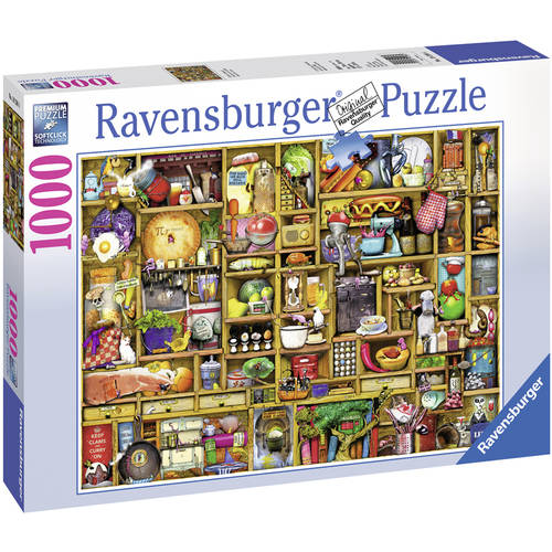Colin Thompson: Kitchen Cupboard Puzzle, 1000 Pieces by Ravensburger