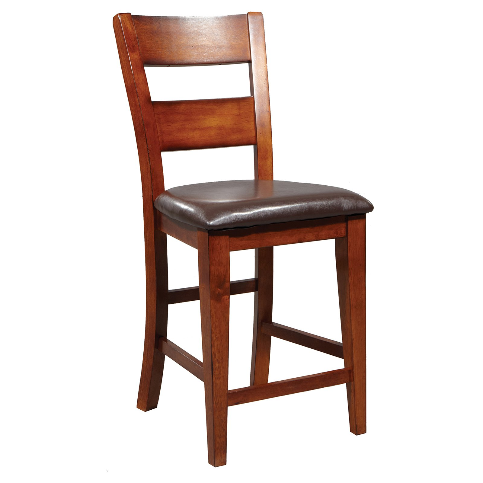 Winners Only Mango Counter Height Ladder Back Stool - Set of 2