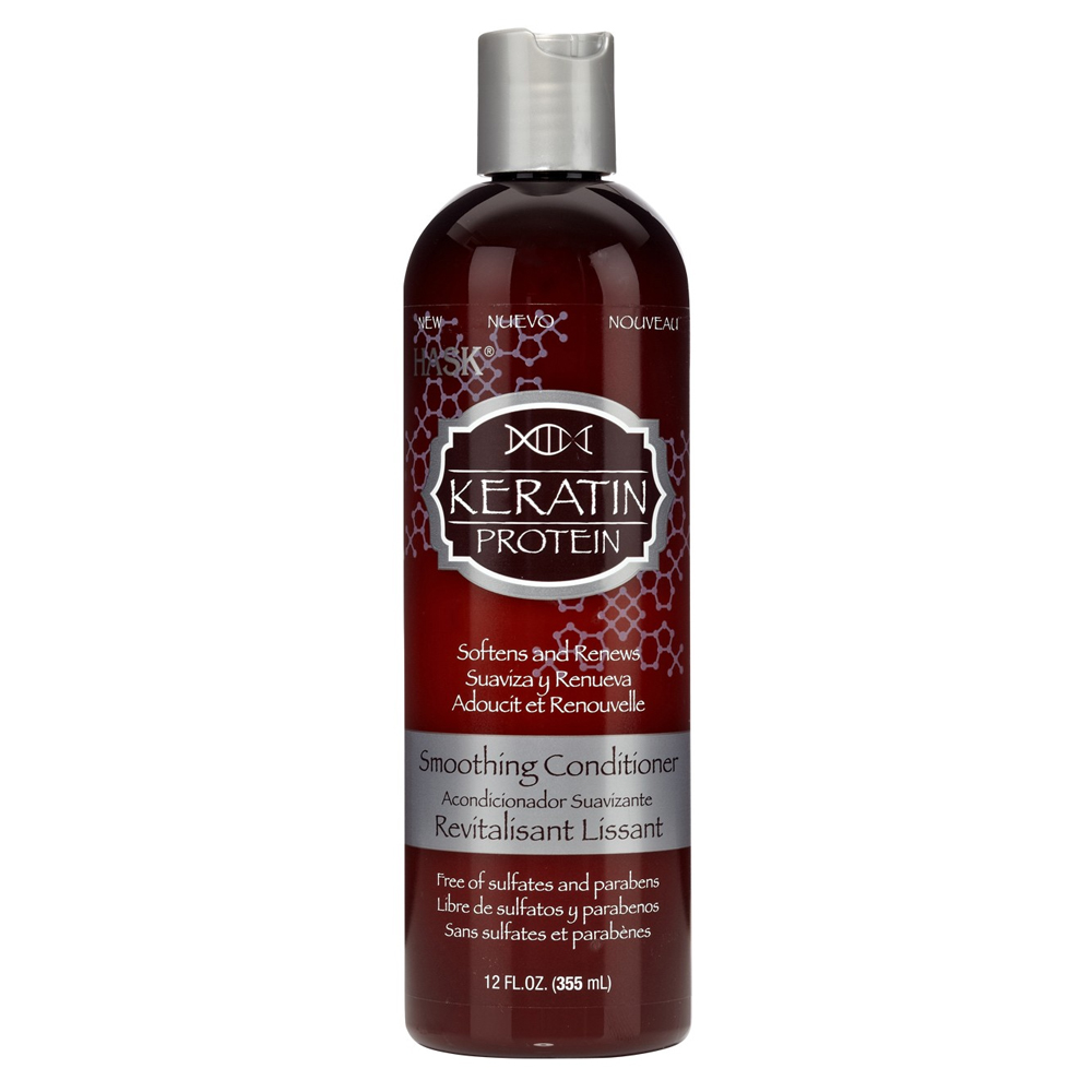 HASK Keratin Protein Smoothing Conditioner, 12 oz (3 Paquets)