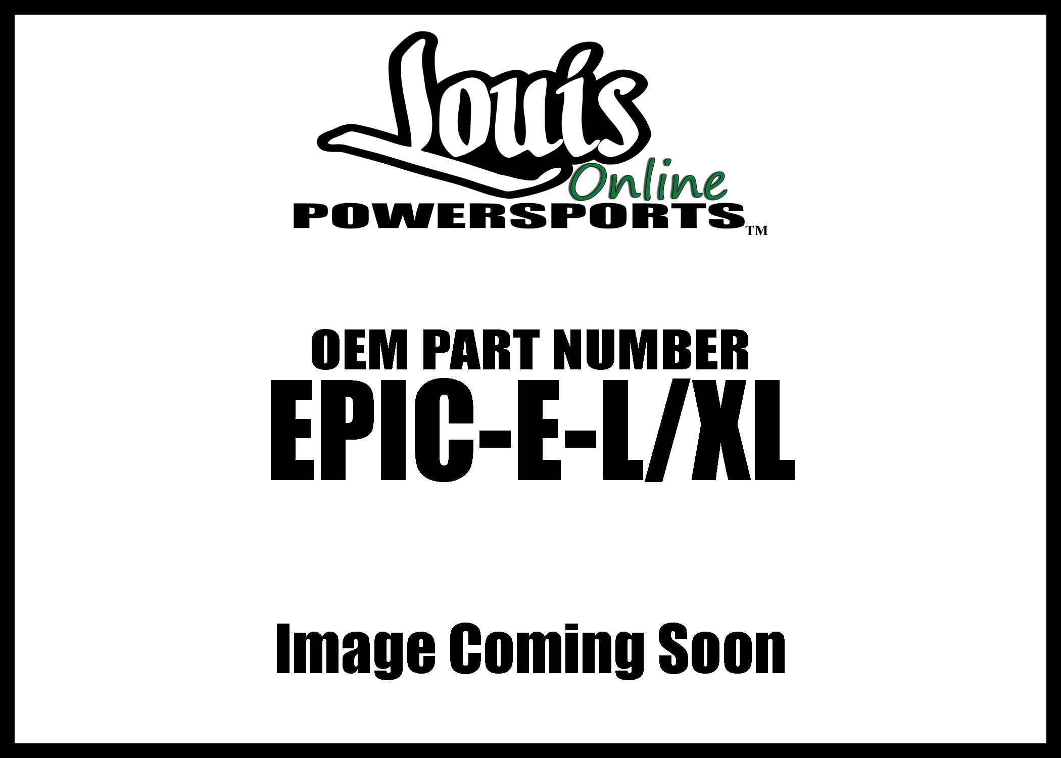 EVS EPIC-E-L//XL Epic Elbow Pad
