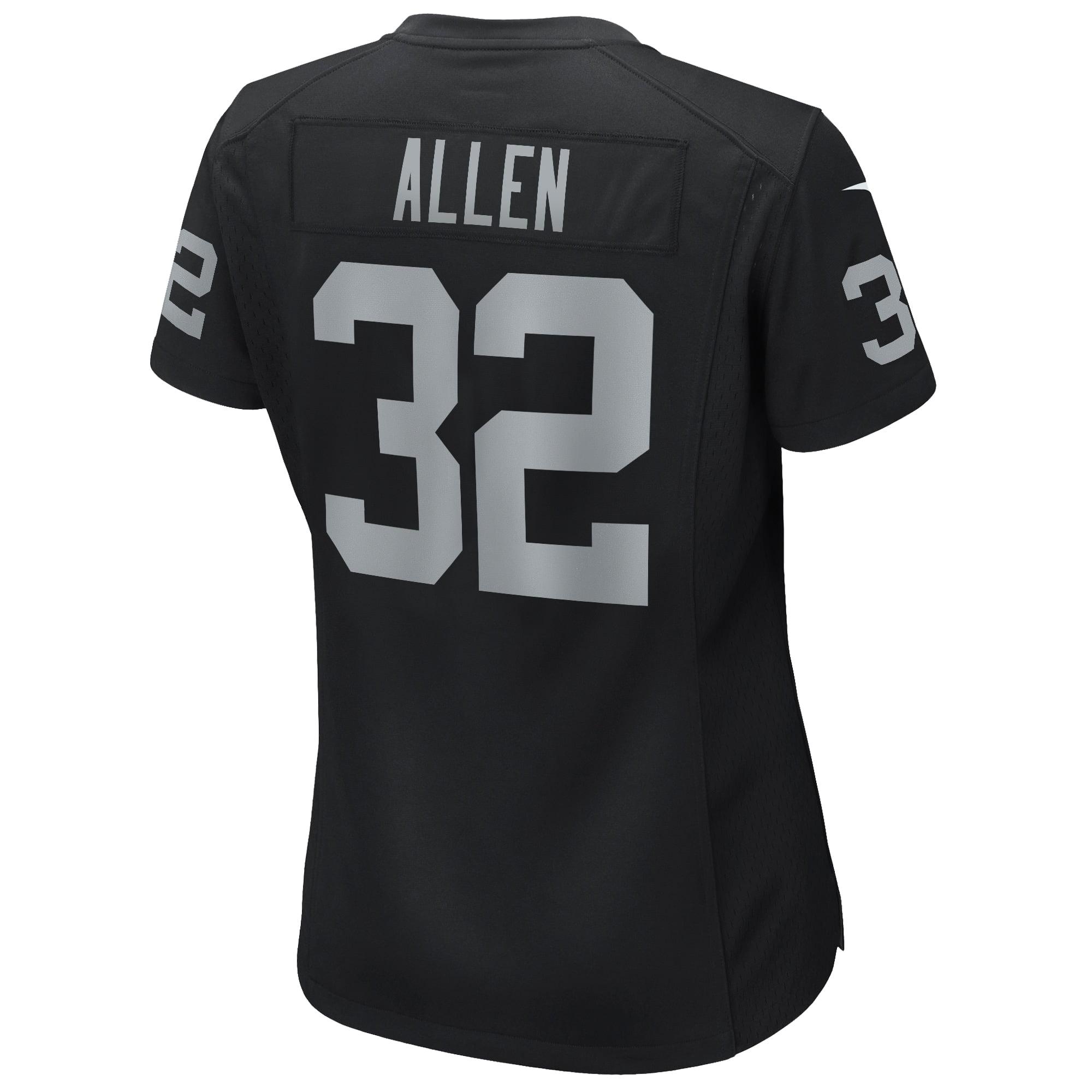 Marcus Allen Las Vegas Raiders Nike Women's Game Retired Player Jersey - Black