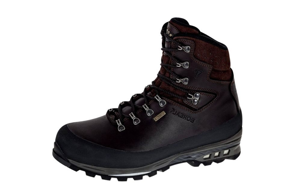 c36758e5f96 Boreal Climbing Boots Mens Lightweight Kovach Full Grain Brown 47067 ...