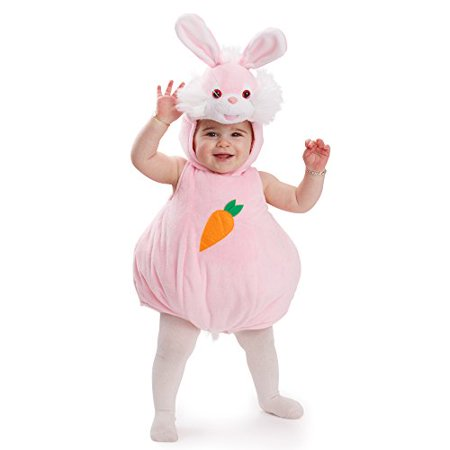 Dress Up America Pink Bunny Rabbit Costume Halloween Infant Animal Outfit for - Halloween Animal Costumes For Toddlers