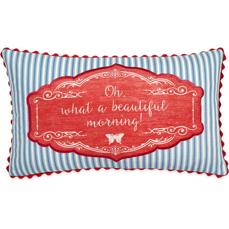 The Pioneer Woman Beautiful Morning 11x20 Decorative - Beautiful Handmade Designer Pillows