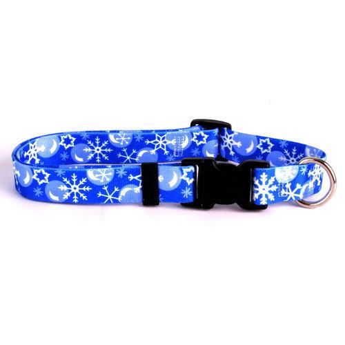 Yellow Dog Design WIN102M Winter Wonderland Standard Collar - Medium