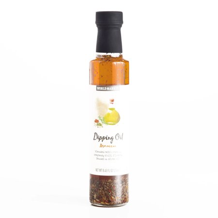 Dipping Oil Spices (Moroccan Dipping Oil 8.45 oz each (1 Item Per Order, not per case) )