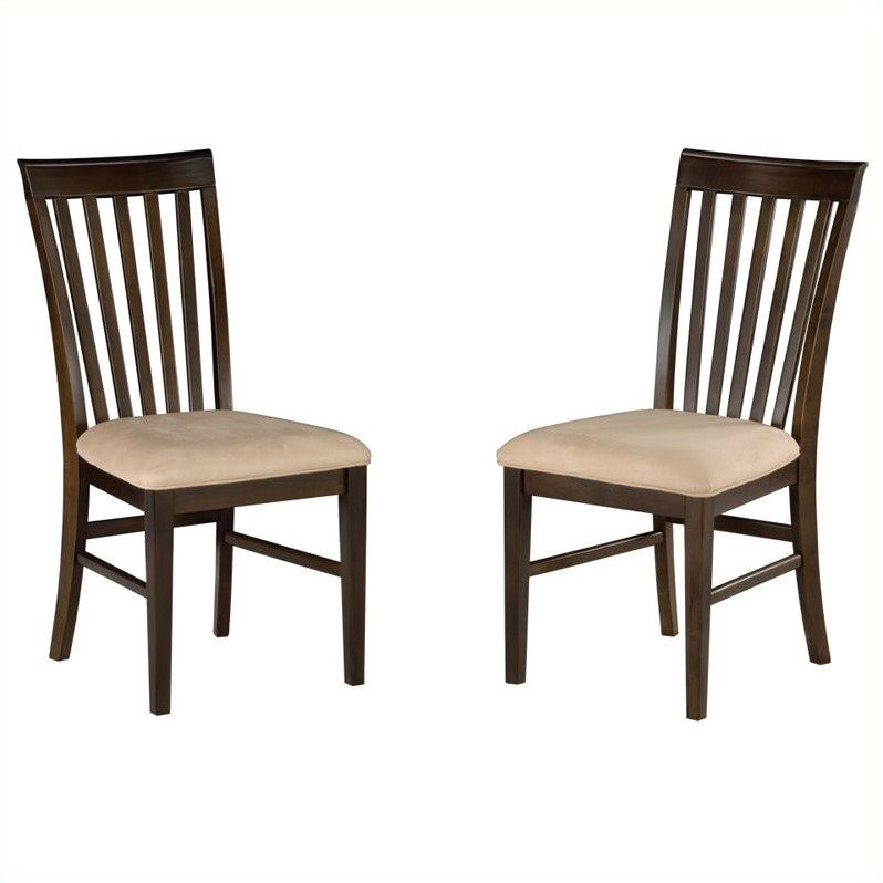 Atlantic Furniture Mission  Dining Chair in Antique Walnu...