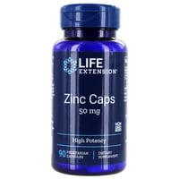 Life Extension - Zinc Caps 50 mg. - 90 Vegetarian Capsules