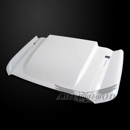 Ford F-350 2011-2016 Type Cowl 3 Inch Style Functional Heat Extraction Ram Air Hood