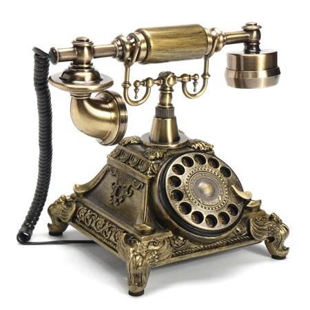 Antique Rotary Phone French Style Vintage Old Fashioned Princess Telephone Home - Antique French Fashion