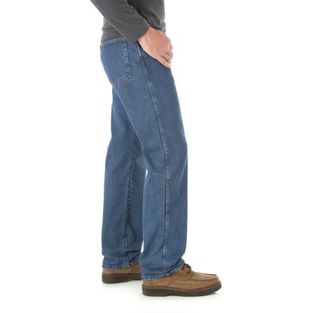 Rustler Men's and Big Men's Relaxed Fit Jeans
