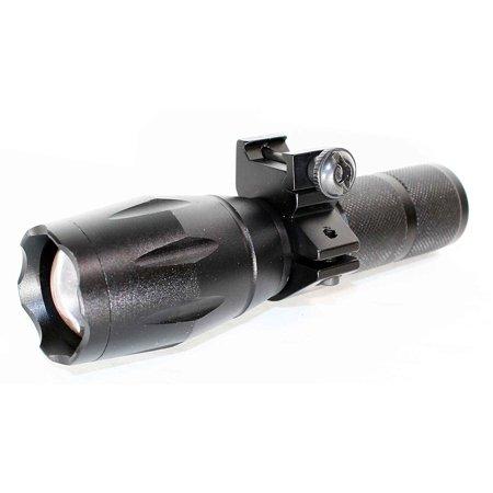 1000 Lumens LED Multi Mode & Strobe Flashlight For Shotguns And Rifles. thumbnail