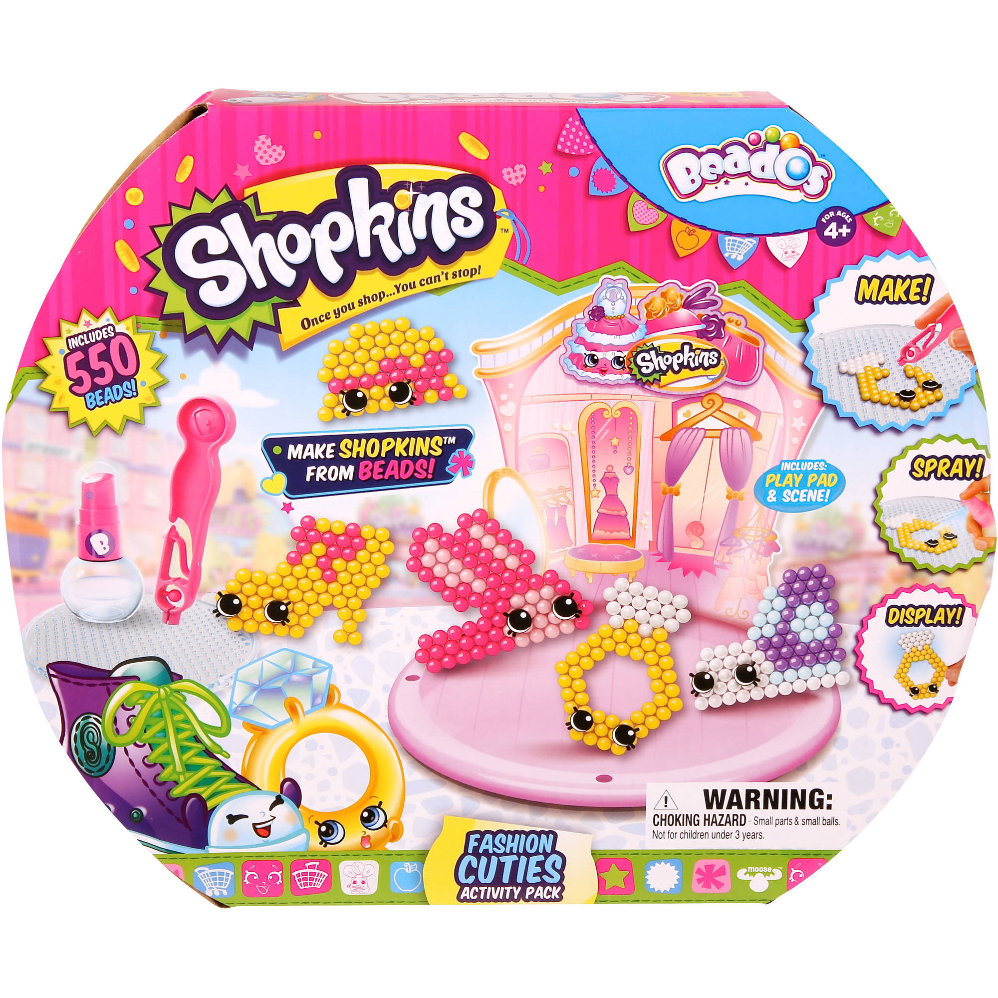 Moose Toys Beados Shopkins Season 3 Activity Pack, Bakery