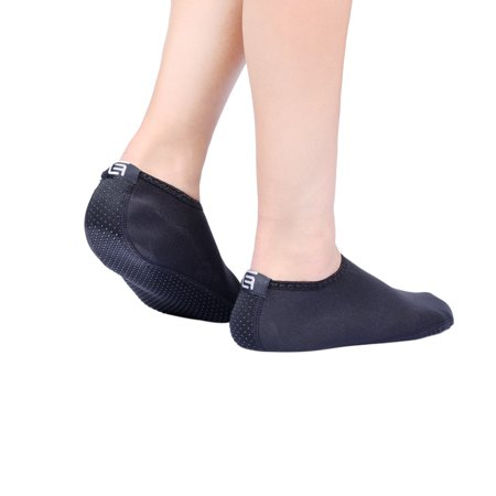 Water Socks for Women Extra Comfort Protects Against Sand, ColdHot Water, UV, RocksPebbles Easy Fit Footwear Yoga, Beach, Pool,