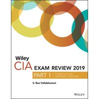 Wiley CIA Exam Review 2019, Part 1 : Essentials of Internal Auditing (Wiley CIA Exam Review Series)
