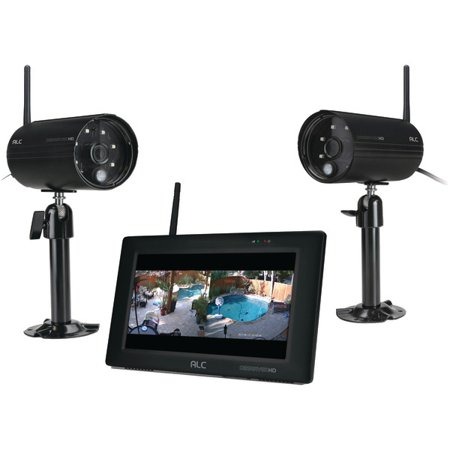 """Image of Alc Aws3377 Observerhd 1080p Full Hd 4-channel 7"""" Touchscreen Monitor With 2 Cameras"""
