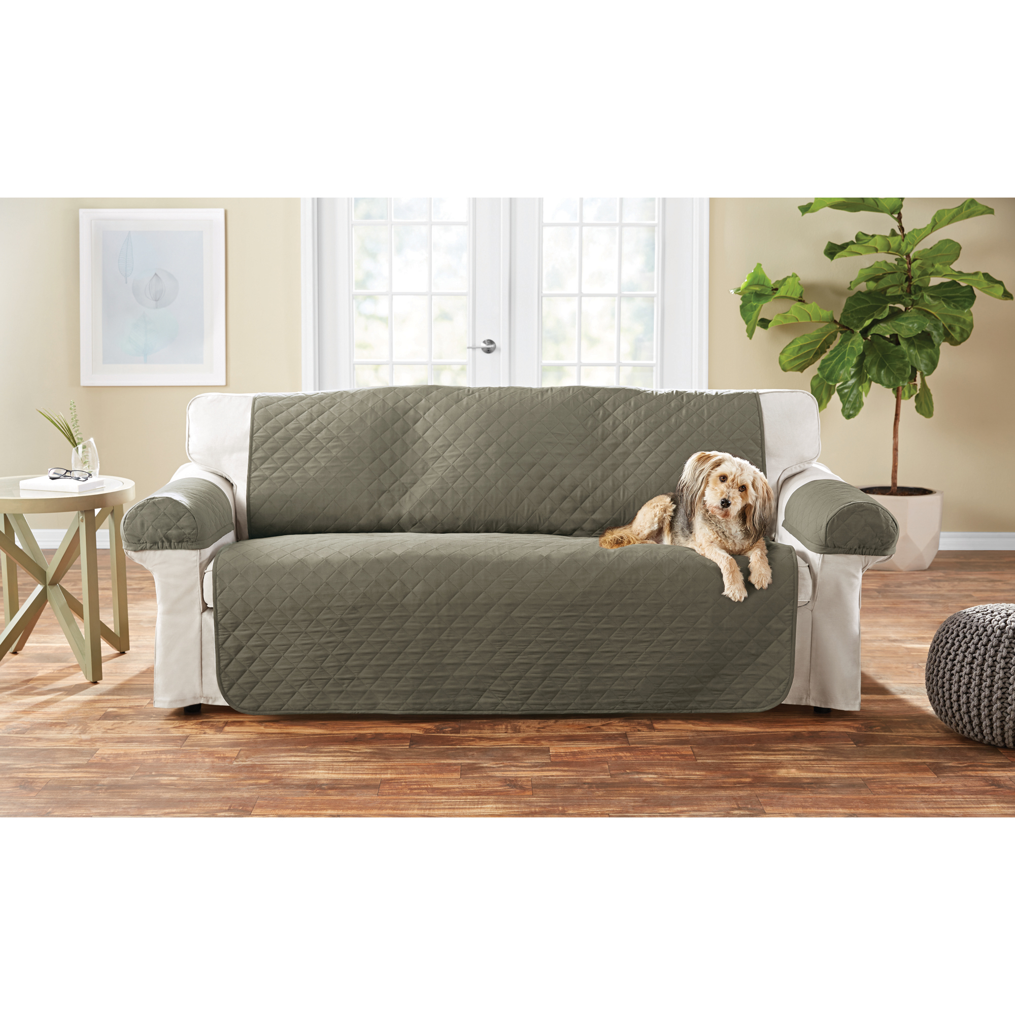 Pleasing Mainstays 3 Piece Sofa Pet Cover Protector With Non Slip Short Links Chair Design For Home Short Linksinfo
