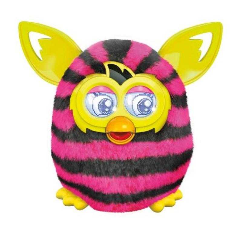 Furby Boom Sraight Stripes with AA Batteries by
