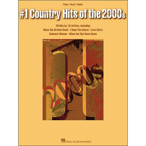 Hal Leonard #1 Country Hits of the 2000s (P/V/G)