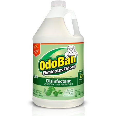 OdoBan Disinfectant Air Freshener and All Purpose Concentrate, (1 gallon, Eucalyptus)