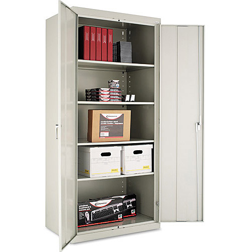 "Alera Deep 78"" Assembled Welded High Storage Cabinet"